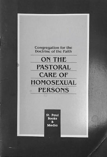 UNA ENCÍCLICA SOBRE LA HOMOSEXUALIDAD 1