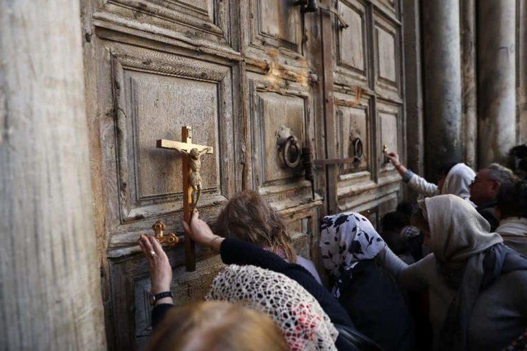 iglesia cerrada jerusalén